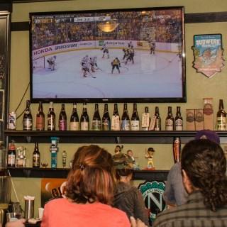 Live sports on big screens